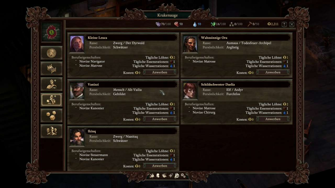 Pillars of Eternity 2: Deadfire – So funktionieren Schiffmanagement ...